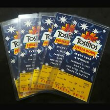 FIESTA BOWL 1997 - LOT OF 5 AUTHENTIC TICKET STUBS - PERFECT CONDITION
