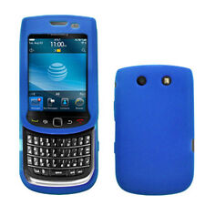 Silicone Skin Case for Blackberry Torch 9800/9810 - Blue