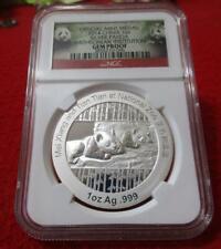 New ListingOfficial Medal 2014 China 1oz Silver Panda Smithsonian Ngc Gem Proof #T4226