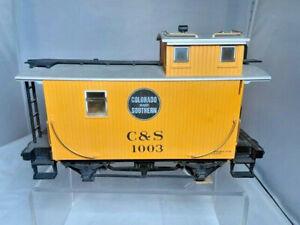 LGB Colorado & Southern 1003 Short Yellow Caboose