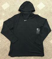 Nike Alpha Fly Rush Football Pullover Hoodie Shirt Black Men's XXL 2XL 908415