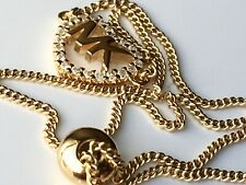 Michael Kors Pavé Logo Heart Slider Bracelet in 14K Gold-Plated Sterling Silver