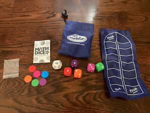 Think Fun Math Dice Junior Game ~ Age 6 and Up - Teachers & Parents