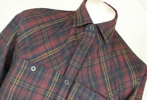 ROHAN Crosscheck Thermocore Shirt M Multicolour Outdoor Autumn Winter Christmas