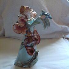 "BLUE SKY Clay-work Fairy Tales Holding a Bird Decorative Sculpture Figurine 14"""