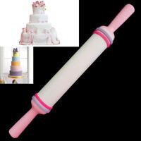 Helpful Long Fondant Cake Decorating Sugarcraft Rolling Pin Not Sticky Tool