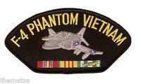 "F-4 PHANTOM VIETNAM VETERAN EMBROIDERED 6"" SERVICE RIBBON MILITARY  PATCH"