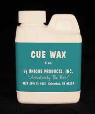 Cue Shaft Wax - 4oz. - Cue Repair - Best in the Business! 000302
