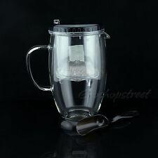900ml Kamjove Glass Gongfu Tea Maker Press Art Cup Teapot with Infuser TP-390
