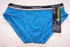 Holeproof Men's Anti-odour Brief - Blue L