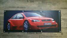 FAHNE Werbe Banner für Opel Fans / Astra G X-Treme V8 DTM OPC Irmscher