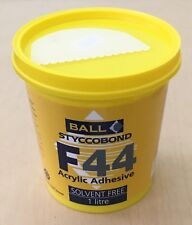 F. Ball StyccoBond F44 Acrylic Adhesive 1 Litre / Solvent Free