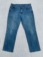 WRANGLER Jeans Hose TEXAS STRETCH Gr.38/32 W38 L32 in blau