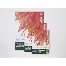 "Winsor & Newton Winton Oil Colour Painting Paper Pad 10 Sheets 230gsm 10 x 7"""