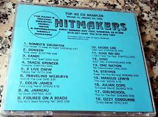 HITMAKERS TOP 40 CD SAMPLER 15 RARE DJ CD 1989 Traveling Wilburys Dino Stryper +