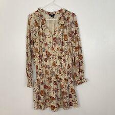 Paige Autumn Print Long Sleeve Dress