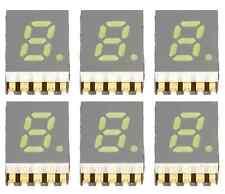 """6 x 7-segmento-visualizzazione display LED SMD BIANCO WHITE 5,08mm Common Cathode 0,2"""""""