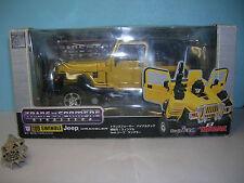 Transformers Binaltech BT-09 Swindle Jeep Wrangler 2004 Takara box & Complete