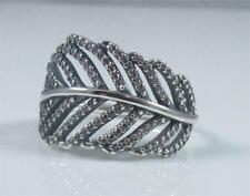 80e381c1d PANDORA Fine Feather Rings for sale | eBay