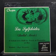 """Desormiere, Chopin - Les Sylphides - Ballet Music LP 10"""" VG+ LPS 192 UK Record"""