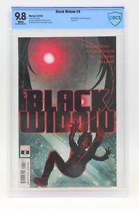 Black Widow (2021) #8 Adam Hughes Cover A CBCS 9.8 Blue Label White Pages