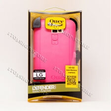 OtterBox Defender LG G2 Non-Verizon Carriers Case w/Belt Clip - Pink/White