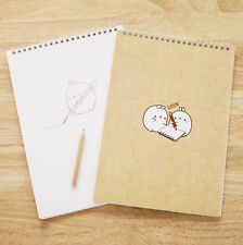 Molang Sketch Book Drawing Pad Sketching Paper Notebook Design Note Drawing Book