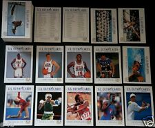 1992 USA Olympic 110 Card Set Michael Jordan De La Hoya Magic Lance Armstrong