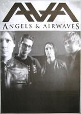 ANGELS & AIRWAVES POSTER S/W BANDPICTURE