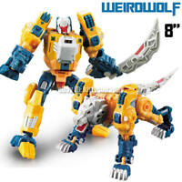 "Kids Toy Deformable Robot Enlarge The Headmasters Weirdwolf 8"" Action Figure"