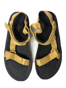 Teva Honey Mustard Hurricane Strap Sport Sandals Men's Sz 11US / 44.5 EU / 10UK