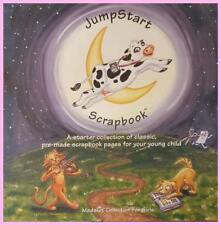 JumpStart Pre-made Scrapbook 16 Pages for GIRLS Starter Collection Girl Memories