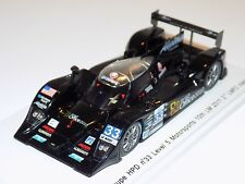 1/43 Spark Lola Coupe HPD Car #33 Level 5 10th 2011 24 H of Le Mans  S2530