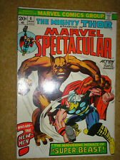 MARVEL SPECTACULAR # 6 VINTAGE THOR 135 LEE KIRBY 20c 1974 BRONZE AGE COMIC BOOK