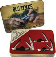 Schrade--Old Timer Gift Set Brown