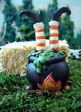 Witch Legs in Cauldron MI 50280 Miniature Fairy Garden