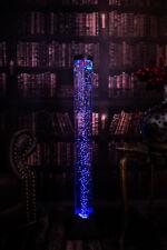 LED-Design & Sprudel-Wassersäule mit Fernbedienung 130cm hoch!