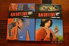 Bd - ANGELINE la série complète en 4 albums que des EO.