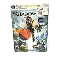 Shadowrun PC Game New In Box Sealed Plays With Xbox 360 Gamers