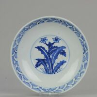 Antique Chinese Porcelain Late Ming Wanli Tianqi or Transitional Shallow...