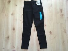 BNWT girls black skinny jeans age 8-9