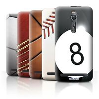 STUFF4 Back Case/Cover/Skin for Asus Zenfone 2 ZE551ML/Sports Balls
