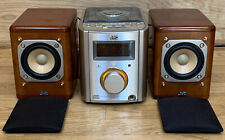 JVC Ultra Compact Component System FS-7000 w/Wood Speakers-EXCELLENT-Ships FAST!