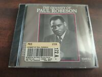 The Odyssey of Paul Robeson by Paul Robeson (CD, May-1992, Omega Music Poland)
