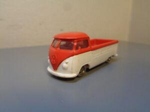 LEGO DENMARK VINTAGE 1950'S VW VOLKSWAGEN PICK UP HO SCALE VERY RARE ITEM VG
