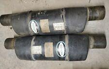 Vernay products Vernatone Round Inline fiberglass  Boat Muffler 4