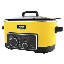 Original NINJA 4-in-1 Cooking System 6 Qt MC900QY (Certified Refurbished) YELLOW