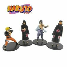 NARUTO Uzumaki/Sasuke /Uchiha Madara Figure Set of 4pcs