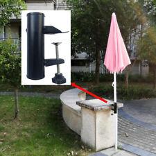UK_ Parasol Holder for Square Railing Patio Umbrella Support Stand Bracket Usefu