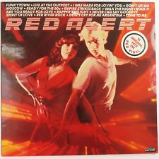 Red Alert by Various Artists, Polystar 1980 LP Coloured Vinyl Record